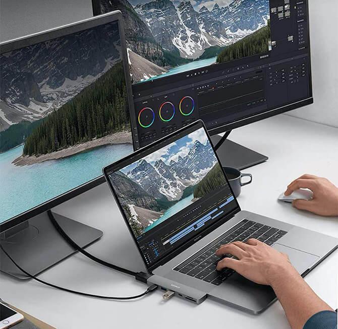 Anker PowerExpand Direct 7-in-2 USB-C PD メディア ハブの特長