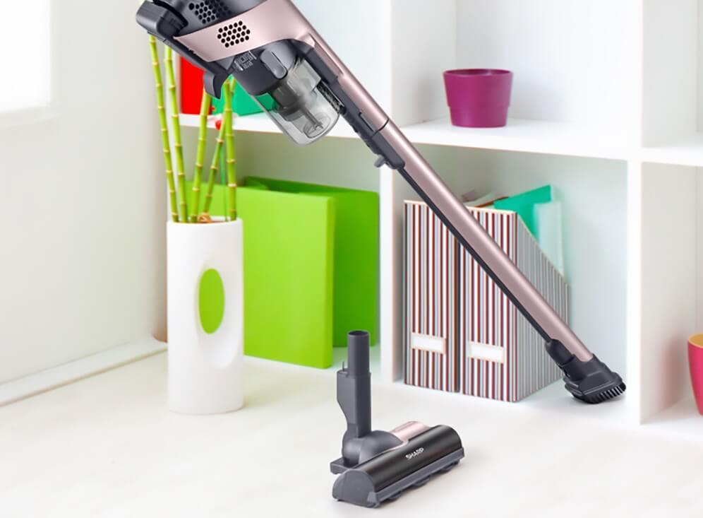 「RACTIVE Air(ラクティブエアー) EC-VR3S」の特長 お掃除を楽にする機能