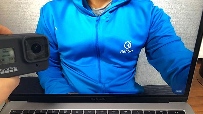 GoProをMacのWebカメラに設定する方法