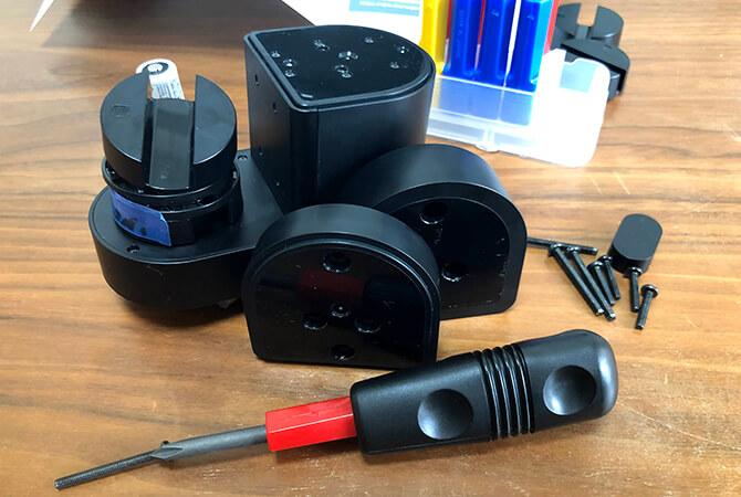 Qrio Lock Q-SL2の組み立て