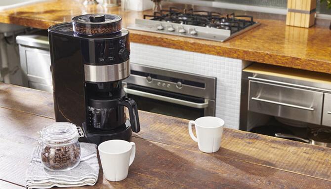 シロカのハイエンド全自動コーヒーメーカー