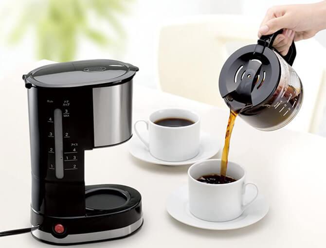 シロカのドリップ式コーヒーメーカー