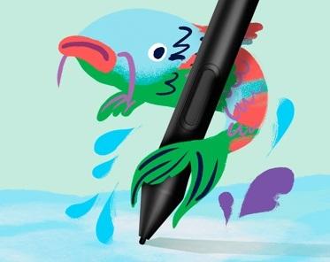 低価格で十分な機能「Wacom One 13」の特長 付属のペンは新型「Wacom One Pen」