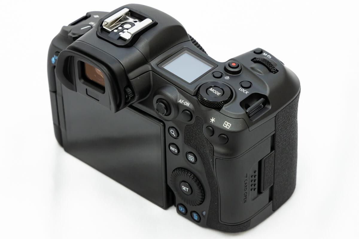 Canon EOS R5 ボタン配置