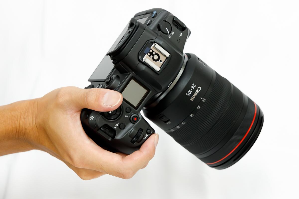 Canon EOS R5 携帯性