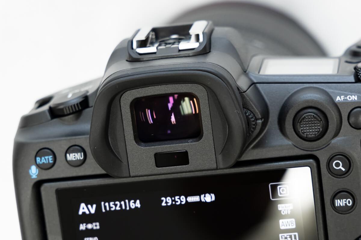 Canon EOS R5 電子ビューファインダー