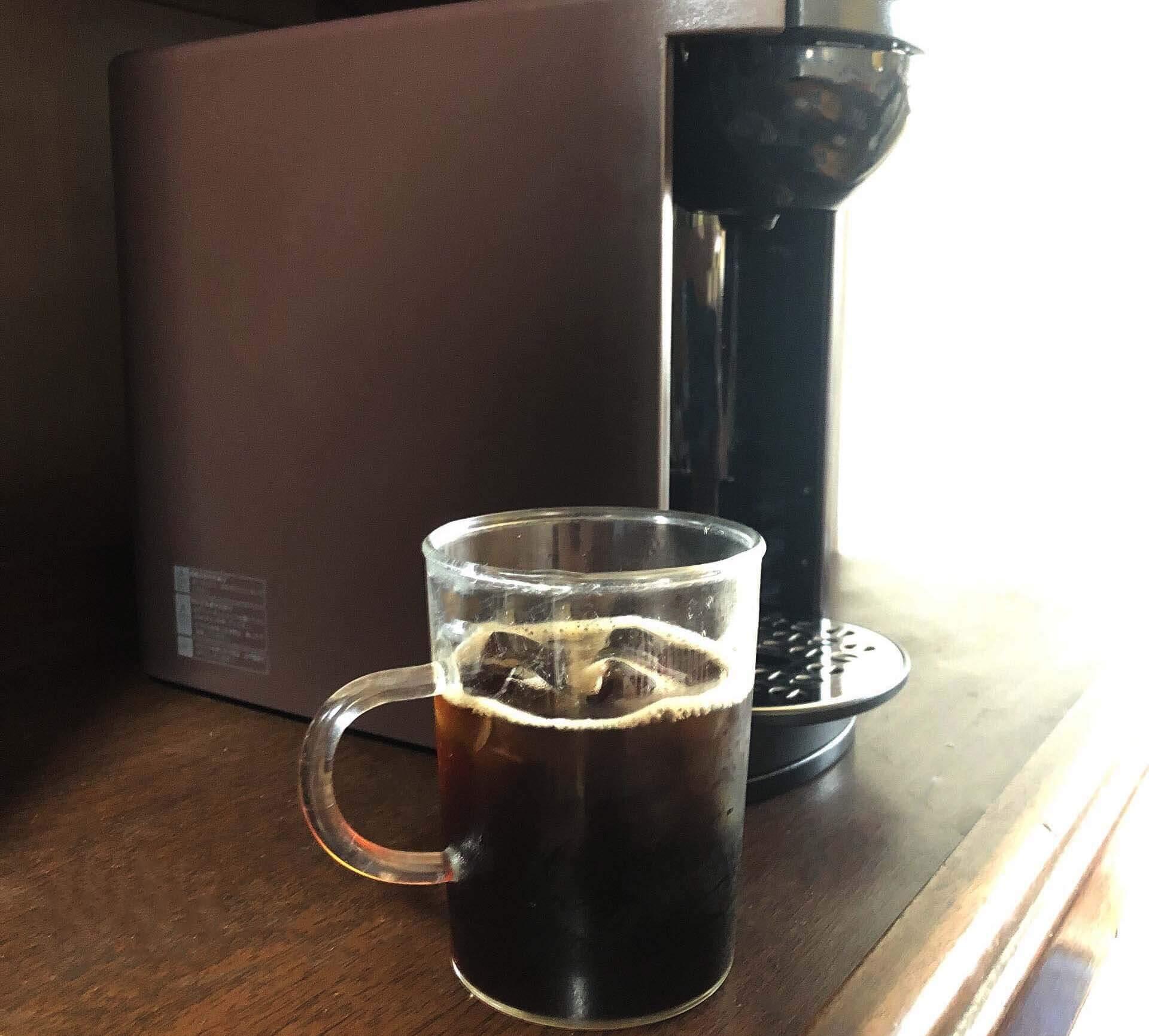 実際にドリップポッドDP3でアイスコーヒーを淹れてみました!