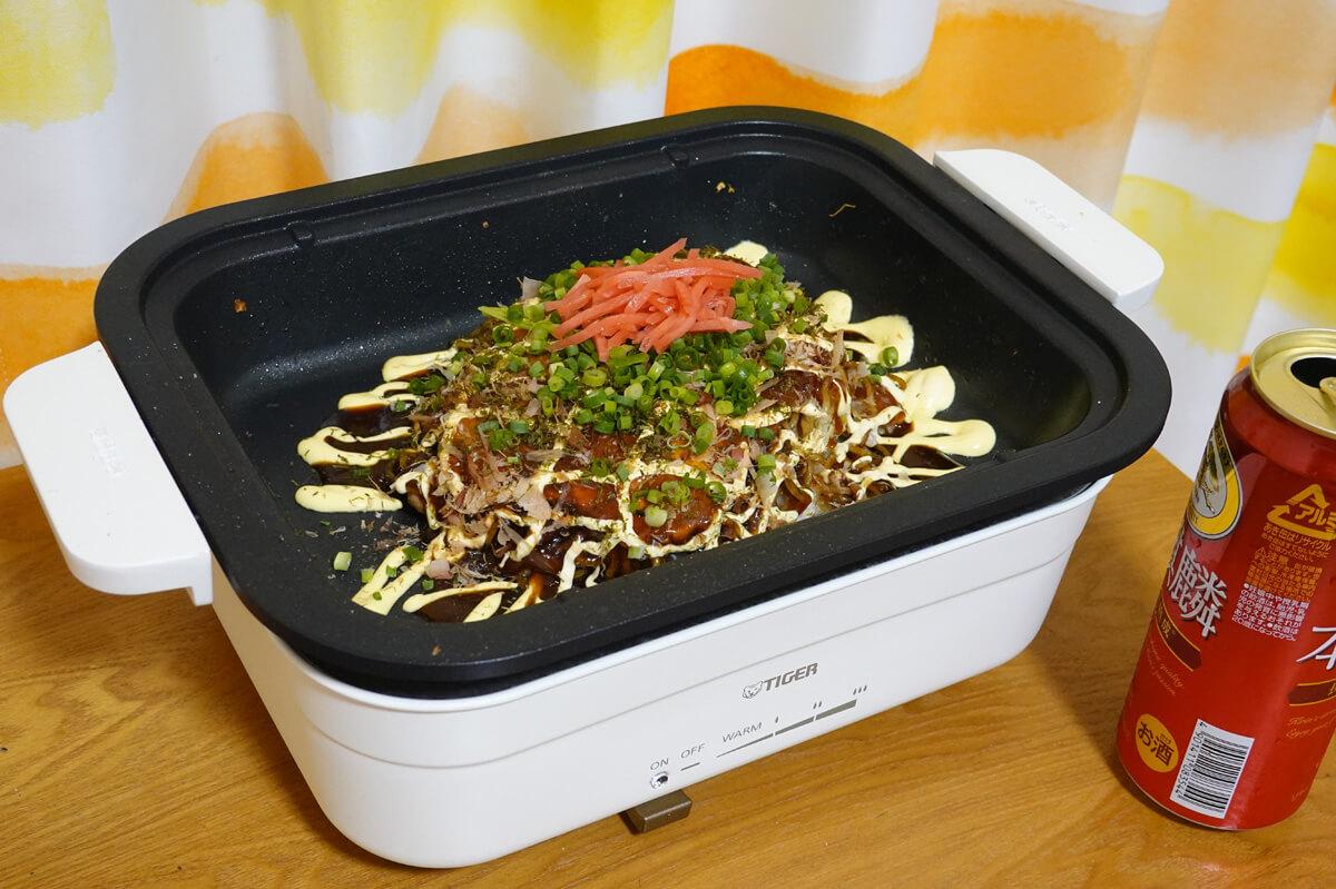 タイガーの小型ホットプレートCRL-A200 を使ってレビュー!1~2人で使いやすい小さめ&深め鍋