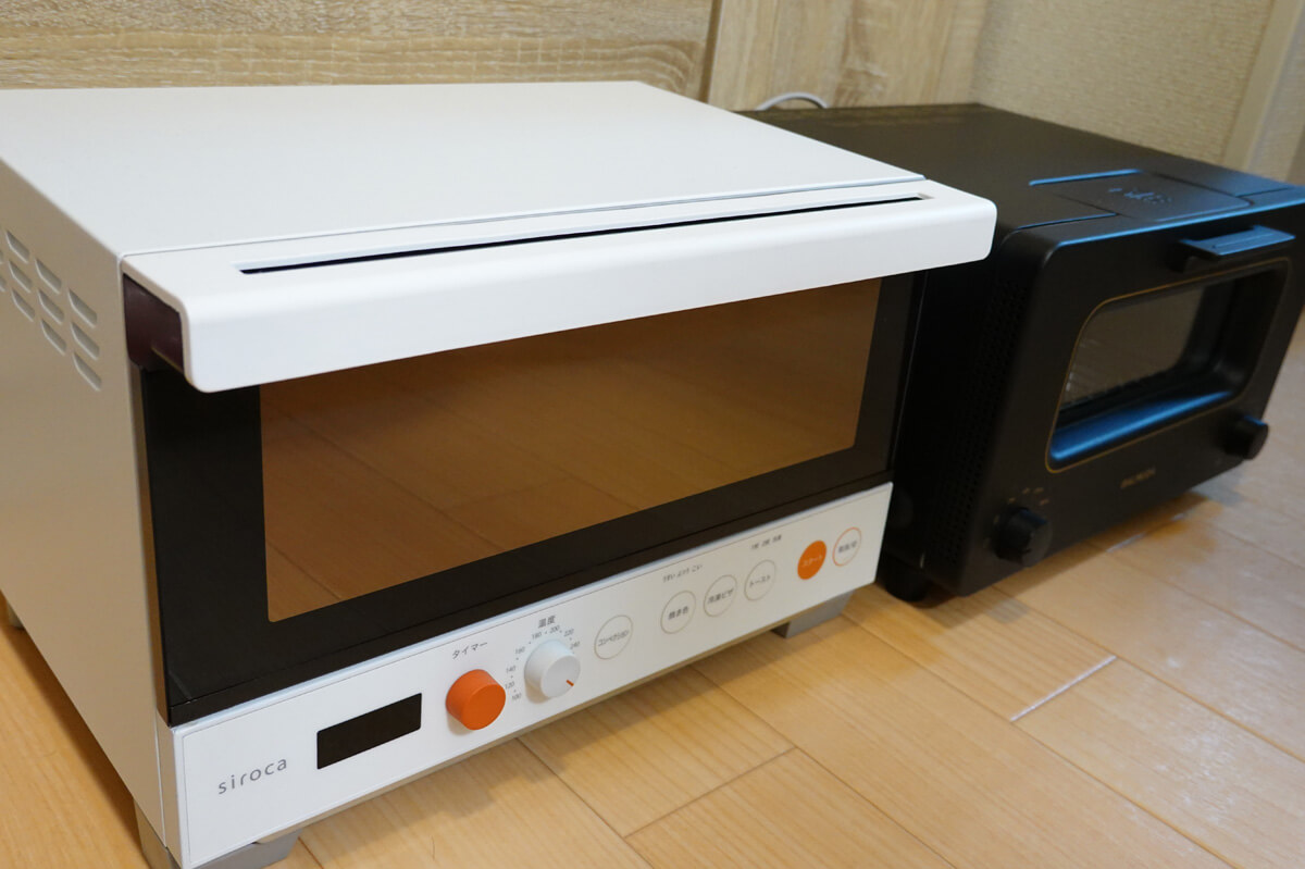 シロカ,バルミューダ 2つの高性能トースター