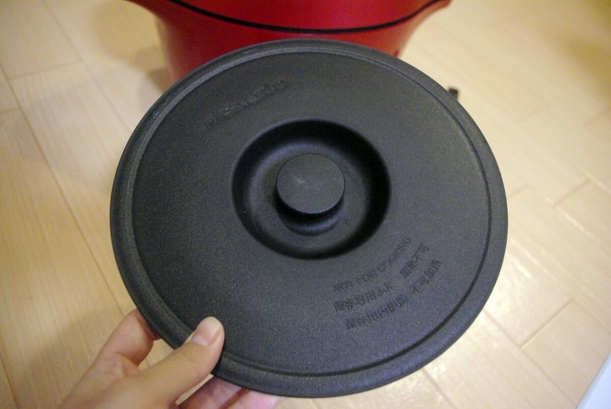 SHARPホットクック 選び方のポイント 4. 付属品 蒸しトレイ、蒸し板、保存専用ふたの有無