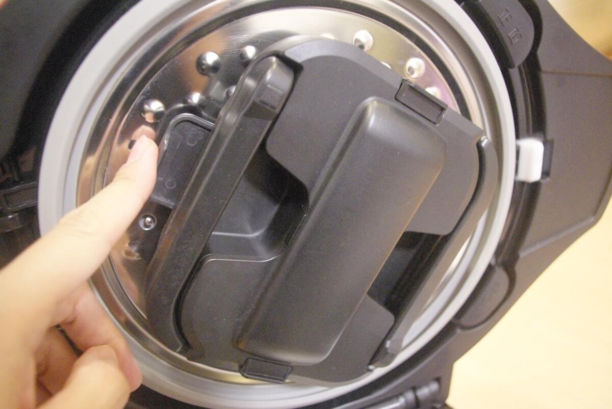 SHARP ヘルシオ ホットクック シリーズの特徴 かきまぜも全自動
