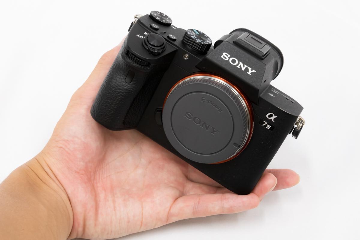 Canon EOS R SONY α7 III 重さ