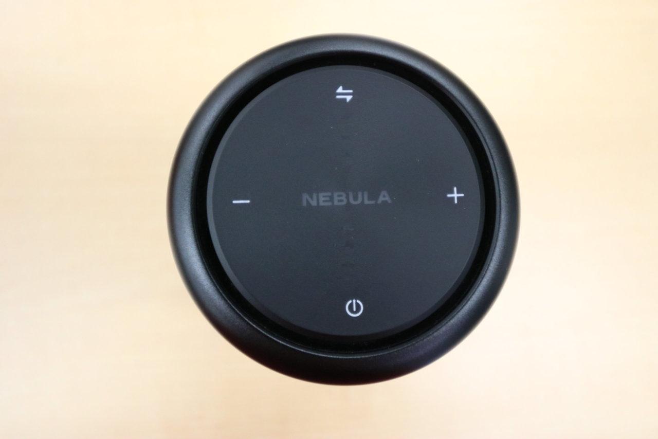 Anker Nebula Capsule Pro ボタン