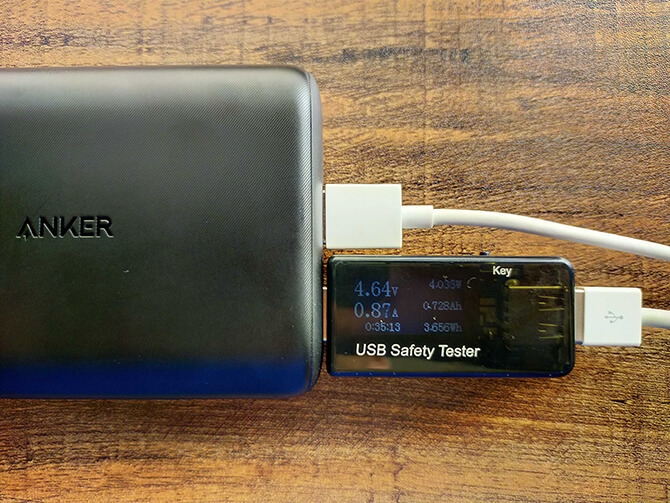Anker PowerCore 15000 Reduxの実機レビュー