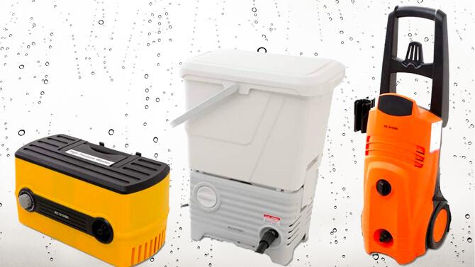 アイリスオーヤマの高圧洗浄機の種類