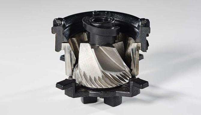 シロカの全自動コーヒーメーカー SC-10c151のコーン式ミル