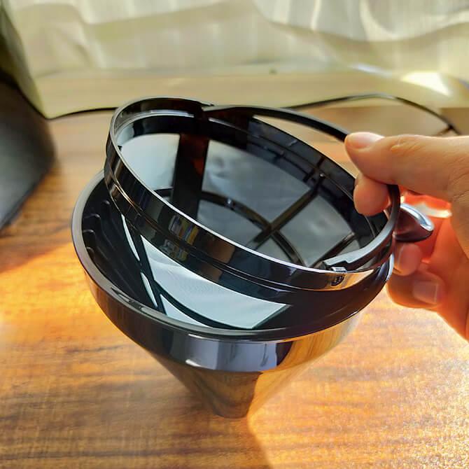 シロカの全自動コーヒーメーカー SC-10c151のメッシュフィルター