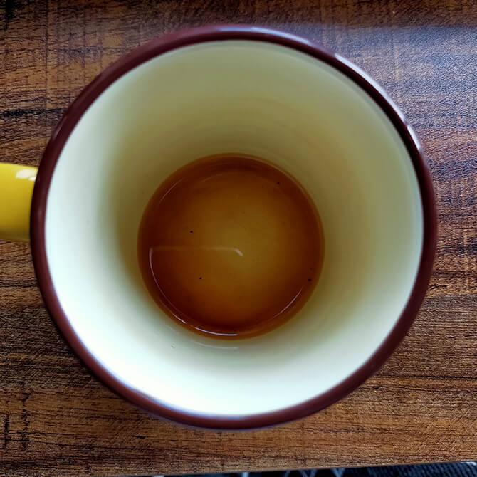シロカの全自動コーヒーメーカー SC-10c151のコーヒー