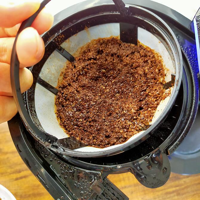 シロカの全自動コーヒーメーカー SC-10c151のフィルター交換