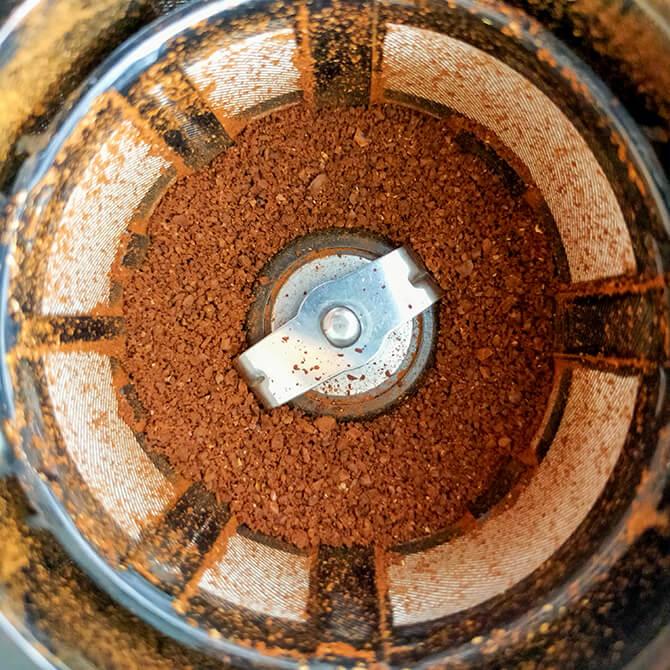 シロカの全自動コーヒーメーカー「カフェばこ SC-A371」の粉砕粒度