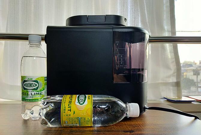 シロカの全自動コーヒーメーカー「カフェばこ SC-A371」のサイズ感