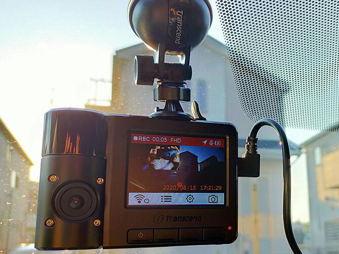 トランセンド DrivePro550Aの実機レビュー