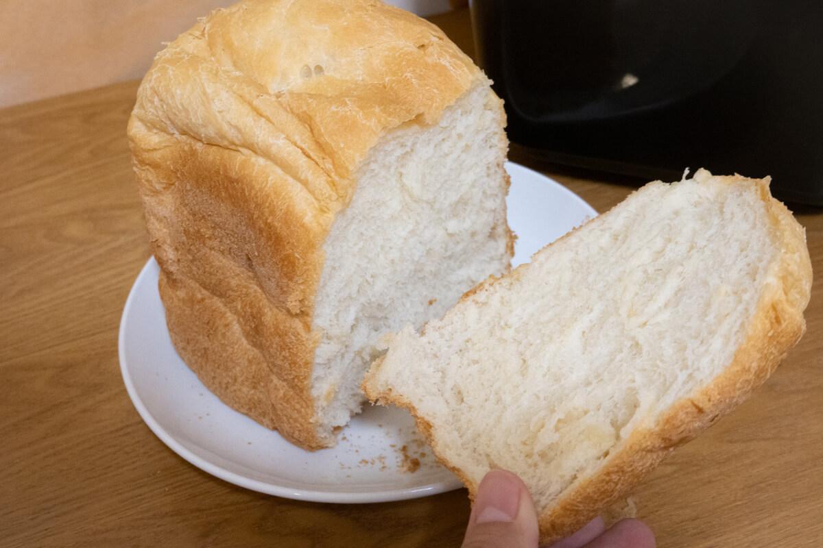 「おうちベーカリーSB-1D151」で作った料理 基本の食パン