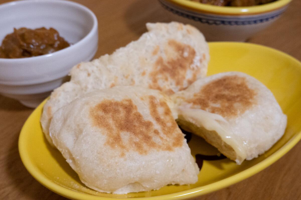 「おうちベーカリーSB-1D151」で作った料理 ナン