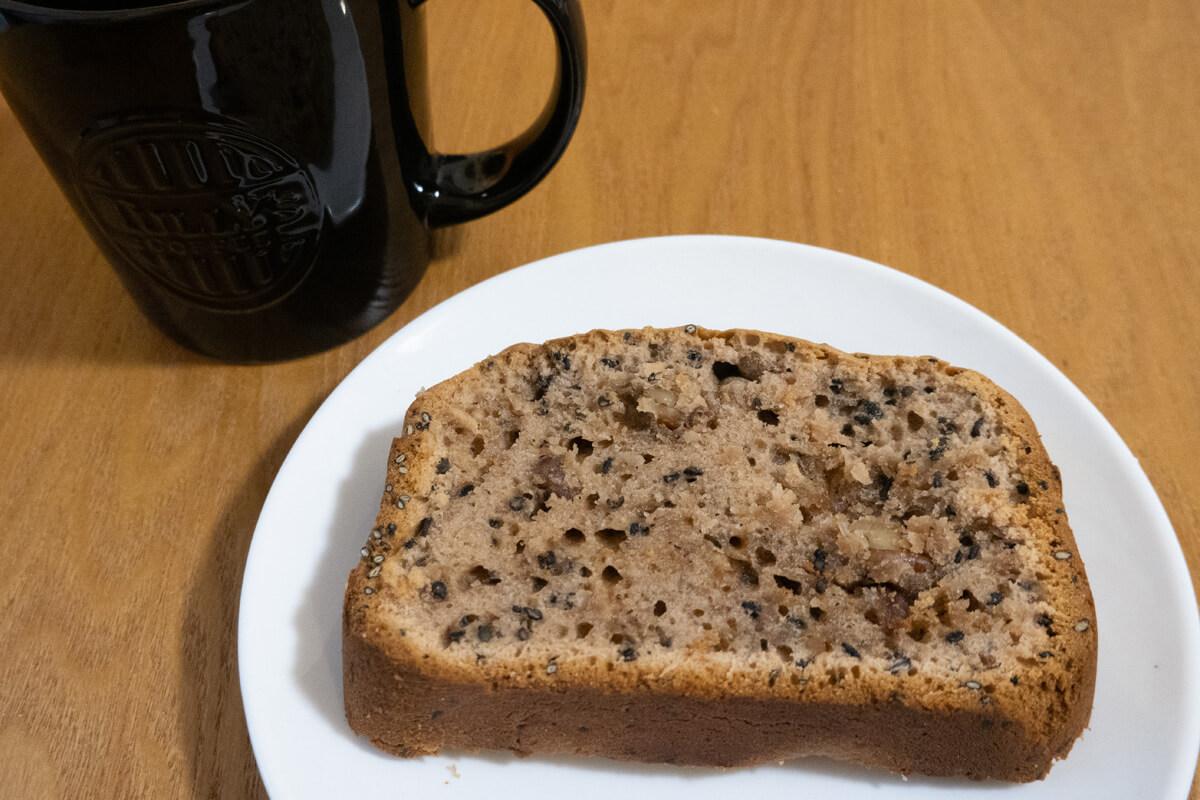 「おうちベーカリーSB-1D151」で作った料理 パウンドケーキ