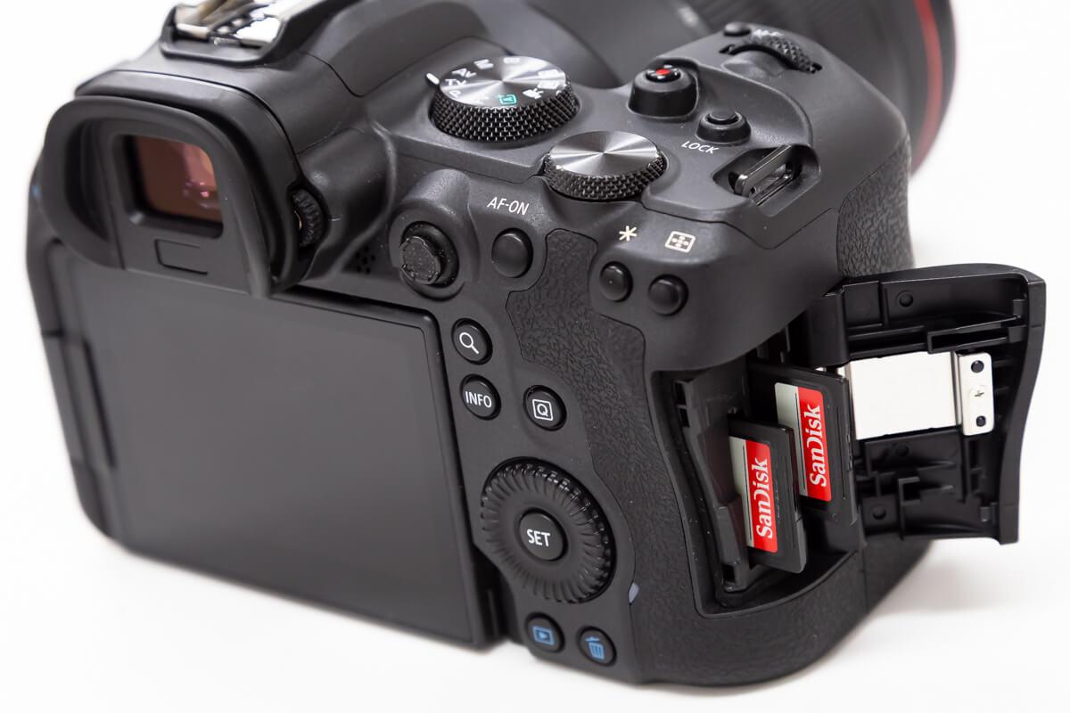 Canon EOS R6 記録媒体