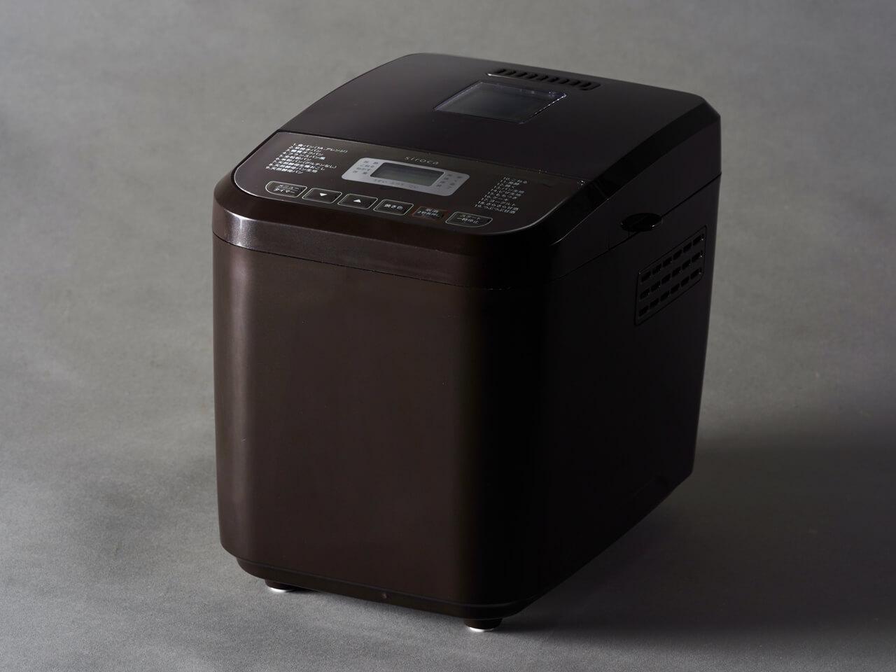 シロカの最新ホームベーカリー「おうちベーカリーSB-1D151」 リーズナブルな価格