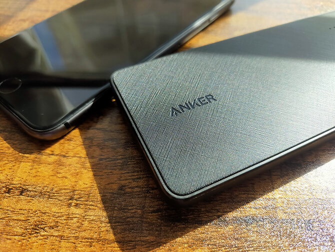 Anker PowerCore+ 10000 with built-in USB-C Cableの実機レビュー