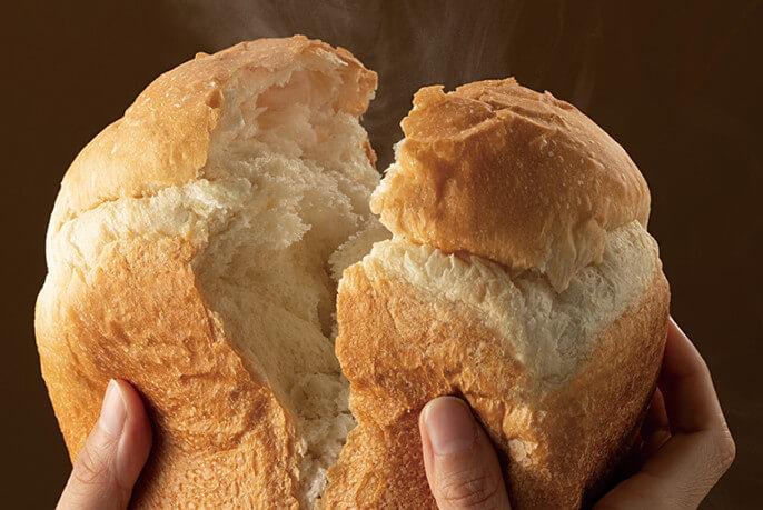 パナソニック ホームベーカリーの特徴 予約タイマー機能で食べたい時間にパンが焼ける