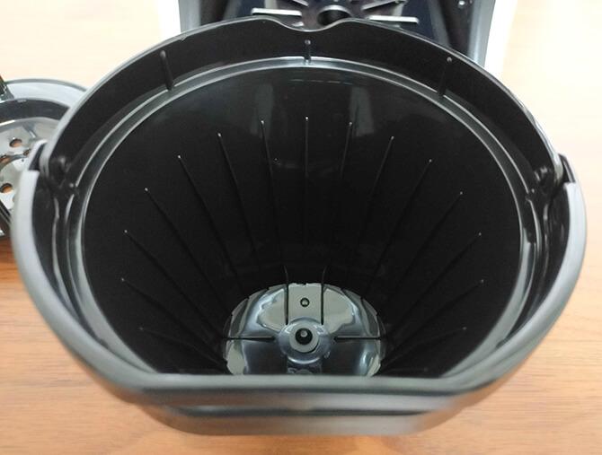 タイガーのコーヒーメーカーACT-E040の深リブフィルター