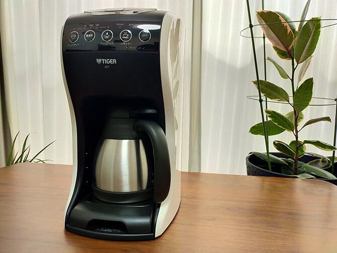 タイガーのコーヒーメーカーACT-E040