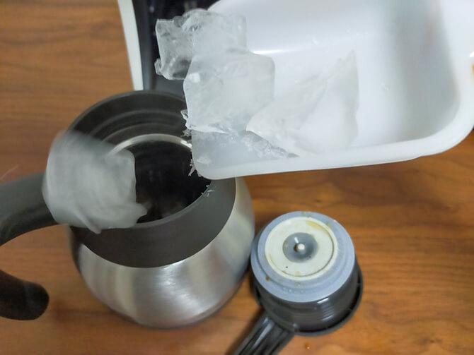 タイガーのコーヒーメーカーACT-E040でアイスコーヒーを作る