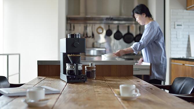 ツインバードの全自動コーヒーメーカー