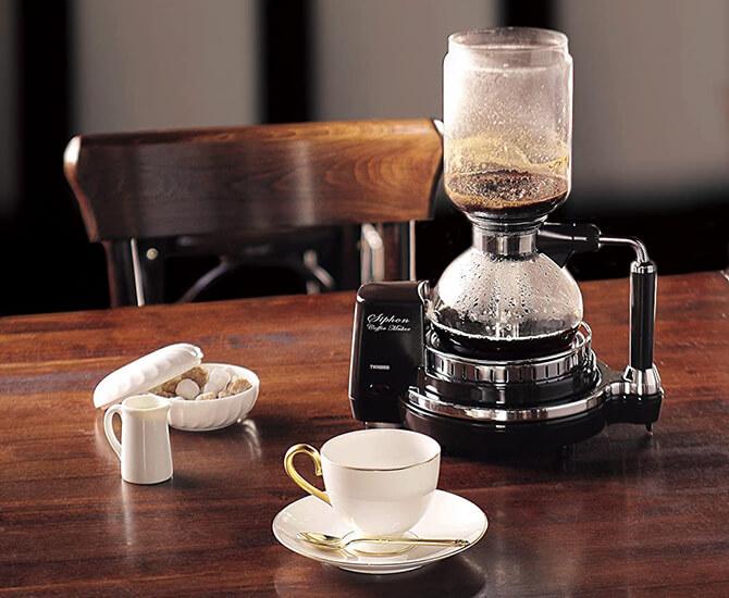 ツインバードのサイフォン式コーヒーメーカー