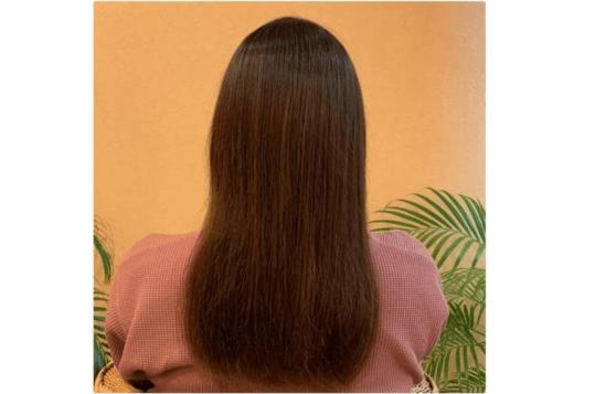 レプロナイザー 4DPlus 使用後の髪の状態