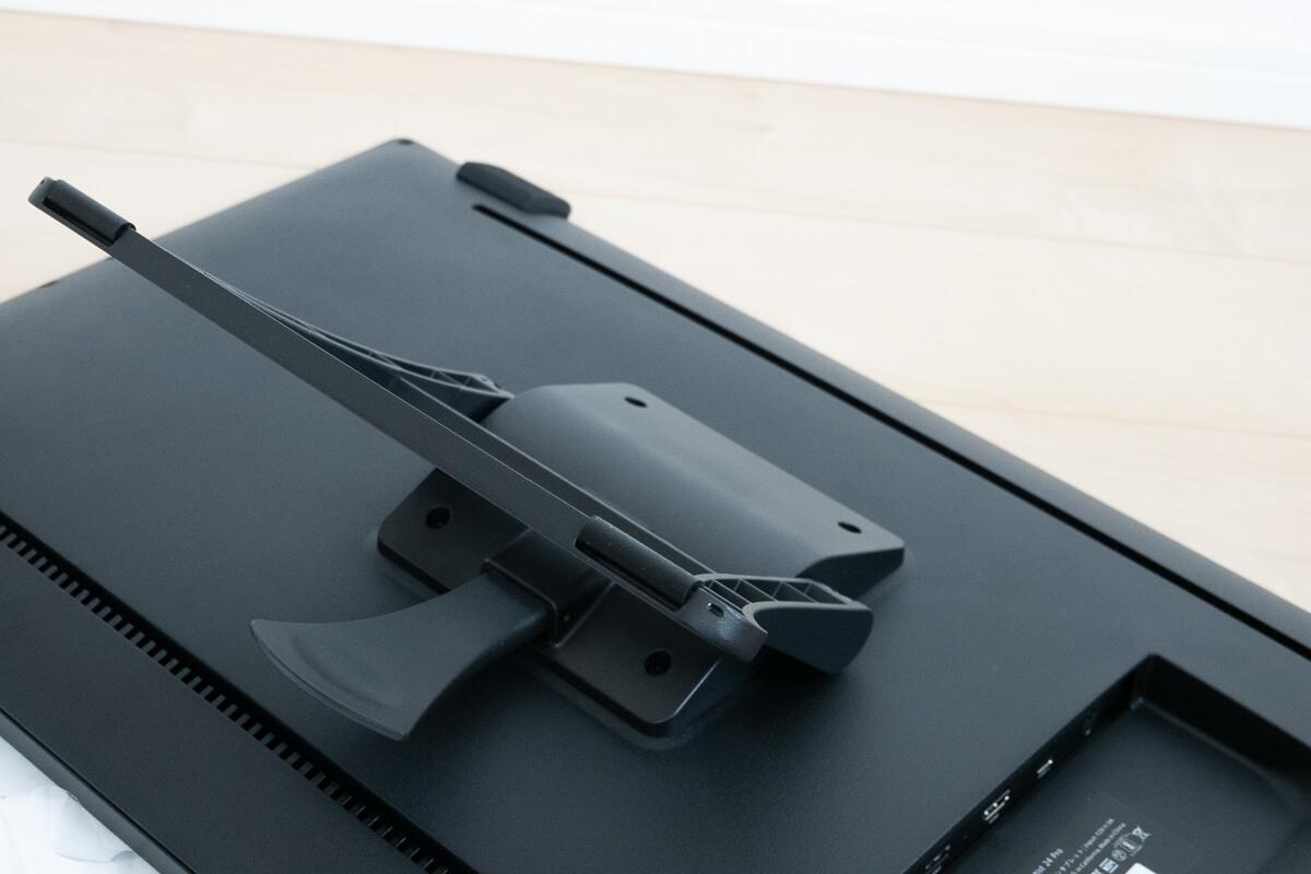 XP-PEN Artist 24 Proの特徴 16~90°の角度調整可能な内蔵スタンド
