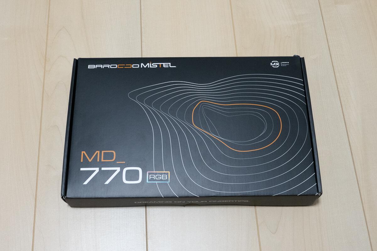 Mistel BAROCCO MD770RGBの特長