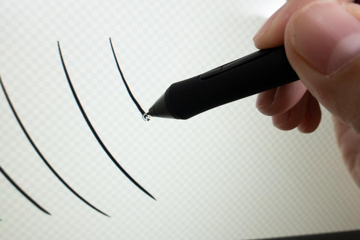 Artist 24 Proを使って描き心地を検証 応答速度・動作遅延