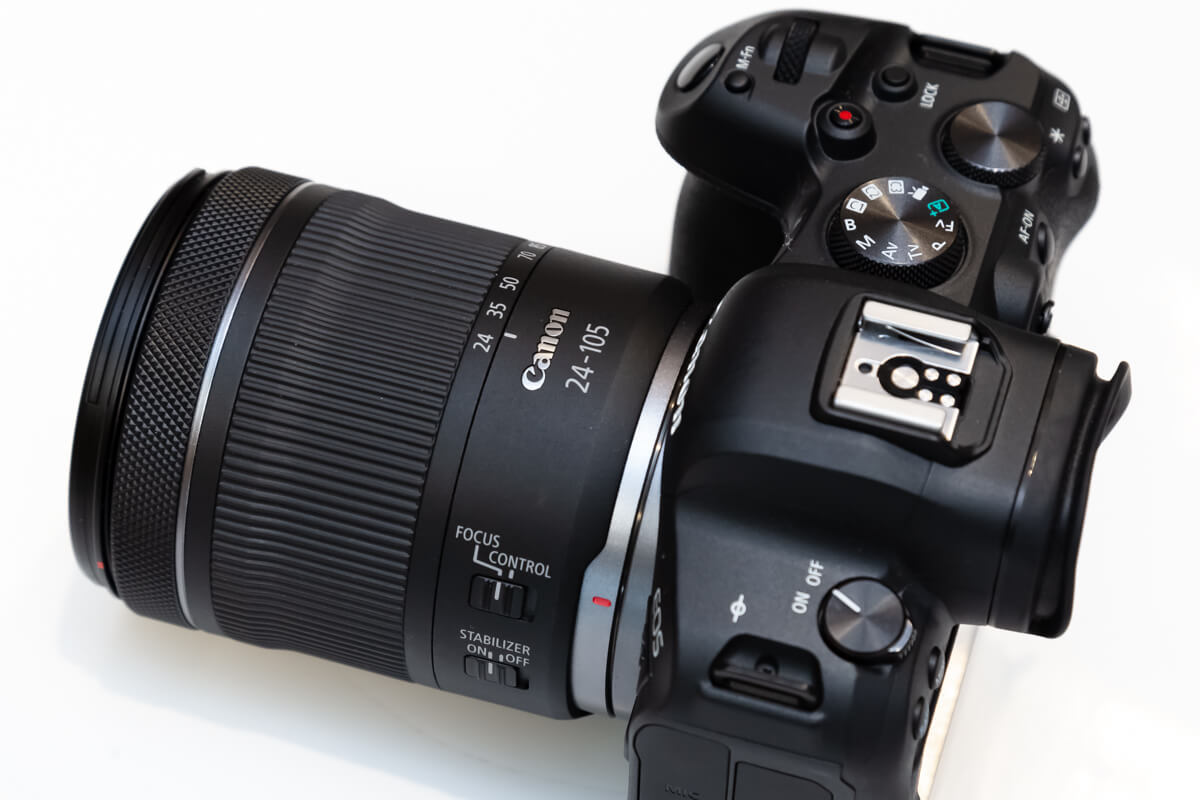RF24-105mm F4-7.1 IS STM デザイン性