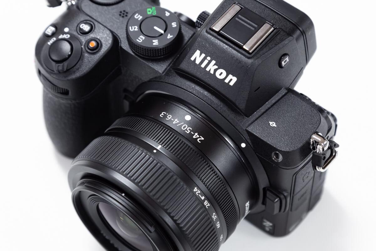 Nikon Z5 レンズキット 携帯性