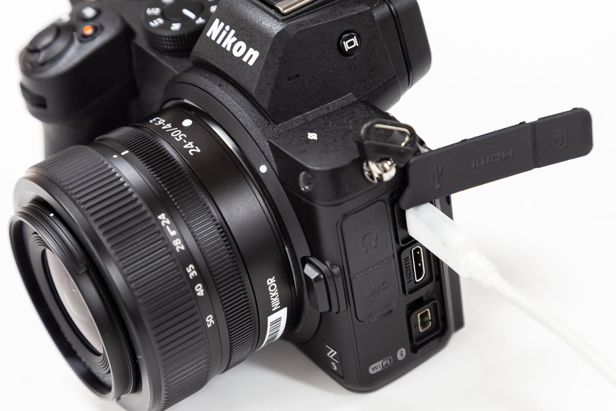 Nikon Z5 USB給電