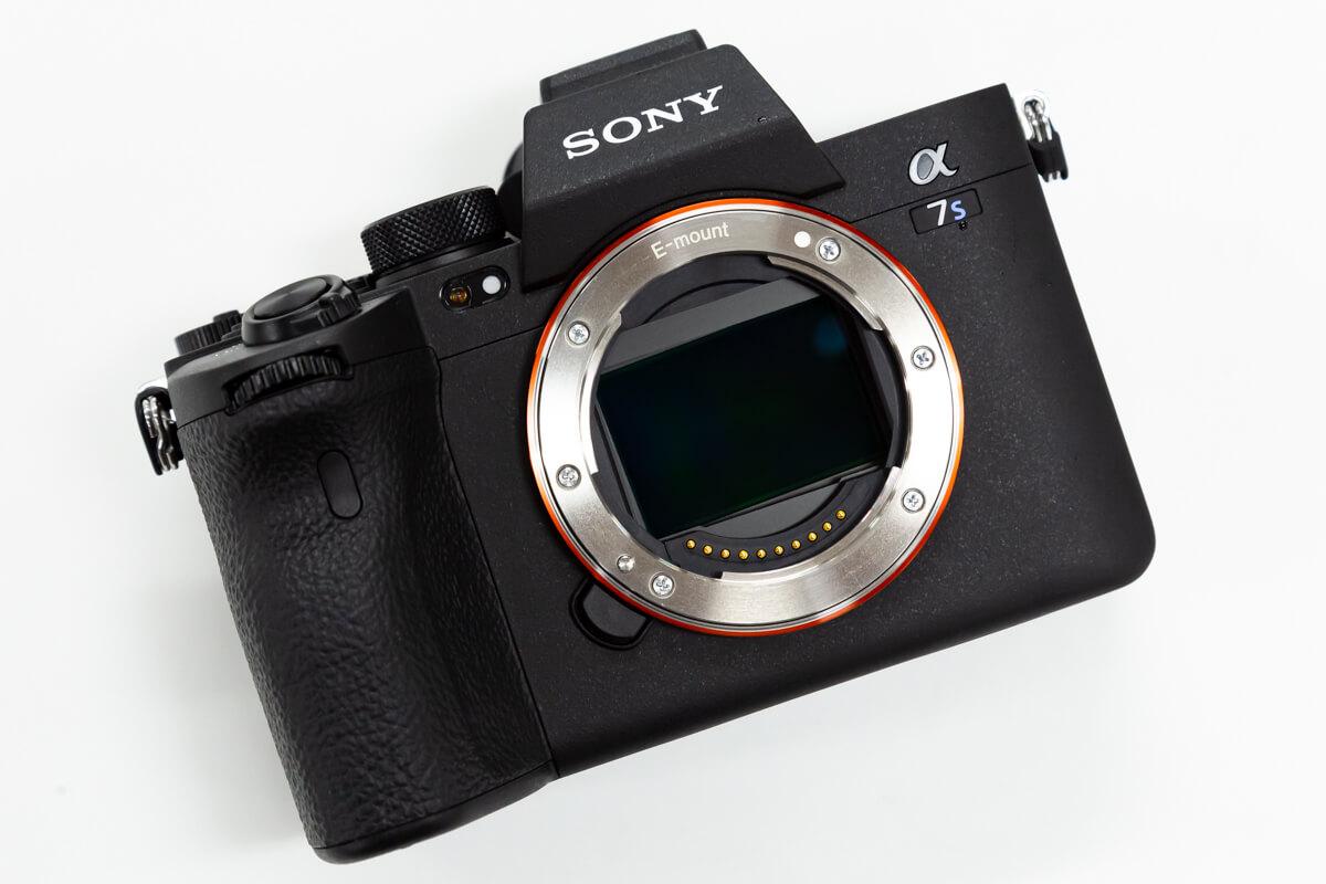 SONY α7S III デザイン