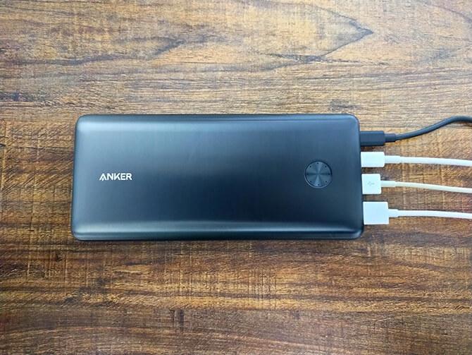 Anker PowerCore III Elite 25600 87Wは4ポート