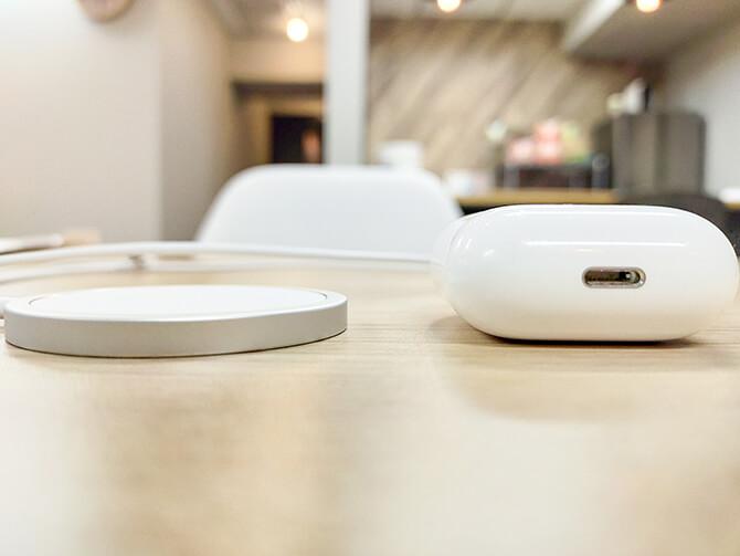 AppleのMagSafe充電器のサイズ感