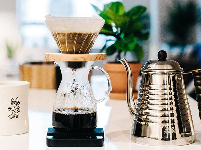 コーヒーにおすすめの電気ケトル