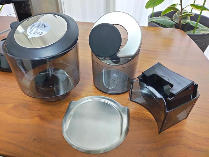 デロンギの電動コーヒーミル「デディカ KG521J-M」のお手入れ方法
